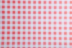 Бумажная текстура в checkered Стоковые Фотографии RF