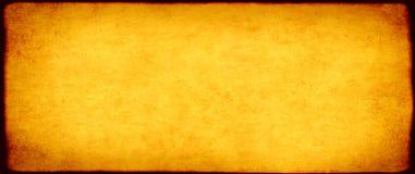 Бумажная текстура желтого цвета Стоковое Фото