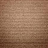 Бумажная текстура - лист коричневой бумаги Стоковые Изображения