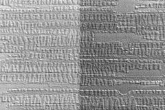Бумажная текстура обоев светлый и темный серый цвет на поверхности стены Стоковые Фотографии RF