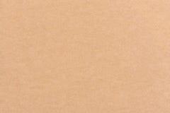 Бумажная текстура - предпосылка листа коричневой бумаги стоковые фотографии rf