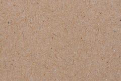 Бумажная текстура - предпосылка листа коричневой бумаги Стоковые Фото