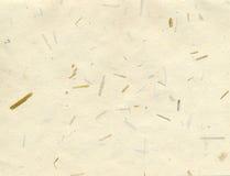 бумажная текстура риса Стоковые Фотографии RF