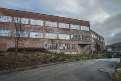 Бумажная фабрика Saugbrugs (части фабрики) Стоковая Фотография