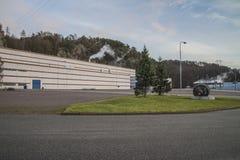 Бумажная фабрика Saugbrugs (PM6) Стоковые Фотографии RF