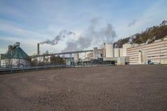 Бумажная фабрика Saugbrugs (PM6) Стоковое фото RF