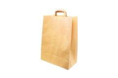 Бумажная хозяйственная сумка стоковое фото rf