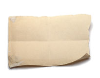 бумажная часть Стоковые Изображения RF