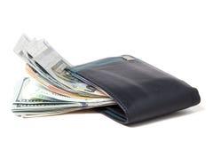Бумажник валюты Стоковые Изображения RF