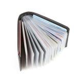 бумажник визитных карточек Стоковое фото RF