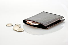 бумажник дег Стоковое Фото
