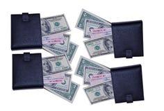 Бумажник денег Стоковые Изображения RF