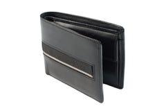 Бумажник изолированный на белой предпосылке Стоковые Изображения RF