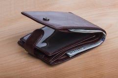 Бумажник с деньгами Стоковое Изображение RF