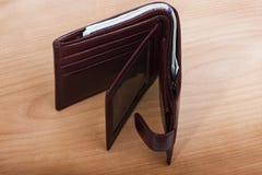 Бумажник с деньгами Стоковое фото RF
