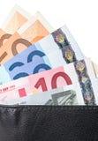 Бумажник с кредитками Стоковые Фотографии RF