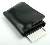 бумажник туза Стоковая Фотография