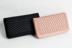 Бумажник цвета кожаный Стоковое Изображение RF