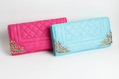 Бумажник цвета кожаный Стоковая Фотография RF