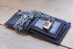 бумажник цепь Стоковые Изображения RF