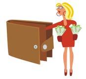 бумажник бесплатная иллюстрация