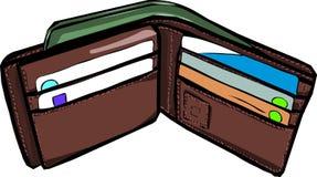 бумажник стоковые изображения rf