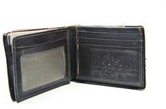 Бумажник Brown старый Стоковые Изображения RF