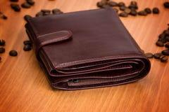 Бумажник ` s людей Брайна Стоковая Фотография RF