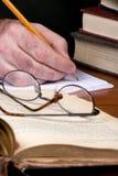 бумажное исследование 2 Стоковые Фотографии RF