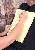 бумажное пер к Стоковая Фотография