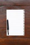 бумажное пер Стоковое фото RF