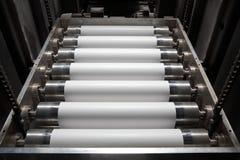 бумажное печатание давления Стоковое Изображение RF