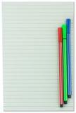 Бумажное примечание Стоковое Изображение RF