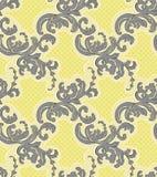 Бумажные вырезы Картина ультрамодного вектора безшовная с абстрактными формами Абстрактная предпосылка brushstroke, красочная ско иллюстрация штока