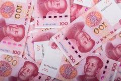 Бумажные деньги фарфора Стоковые Изображения RF