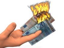 бумажные деньги иллюстрация штока