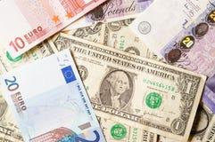 бумажные деньги Стоковое Фото