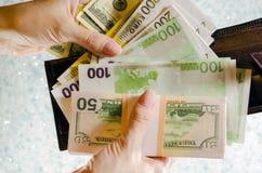 Бумажные деньги Стоковые Изображения