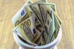 Бумажные деньги Стоковая Фотография