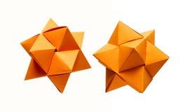 бумажные звезды Стоковое Изображение