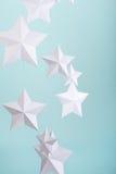 бумажные звезды Стоковые Изображения