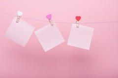 Бумажные листы на потоке Стоковые Изображения