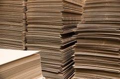 Бумажные колонки Стоковое Изображение RF