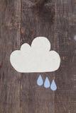 Бумажные облака Стоковые Изображения