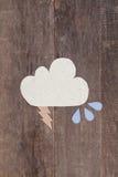 Бумажные облака Стоковое фото RF