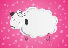 Бумажные овцы Стоковые Фотографии RF