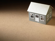 Бумажные дома Стоковое фото RF
