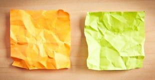Бумажные памятки Стоковые Изображения RF