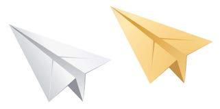 бумажные плоскости Стоковое Изображение