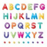 Бумажные прописные буквы Стоковое Фото